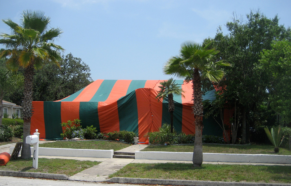 Tent Fumigation & Tent Fumigation - Brooker Pest Control